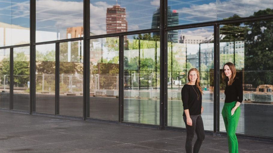 Anna Kaiser und Jana Tepehaben das Start-up Tandemploy gegründet.
