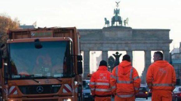 Neue Runde im Tarifstreit: Verdi rief unter anderem die Beschäftigten der BSR zu Warnstreiks auf.