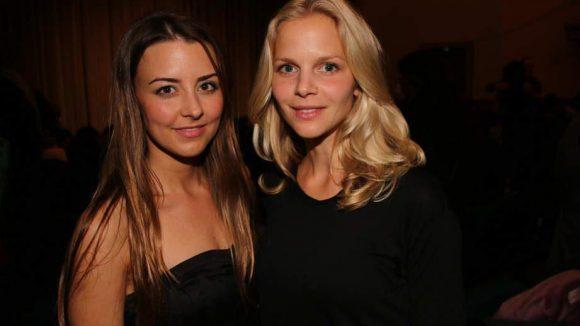 """Luisa Wietzorek und Sinja Dieks (v.l.) stehen ebenfalls im """"Tatort"""" vor der Kamera."""