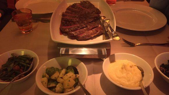 Steak im Tauro.