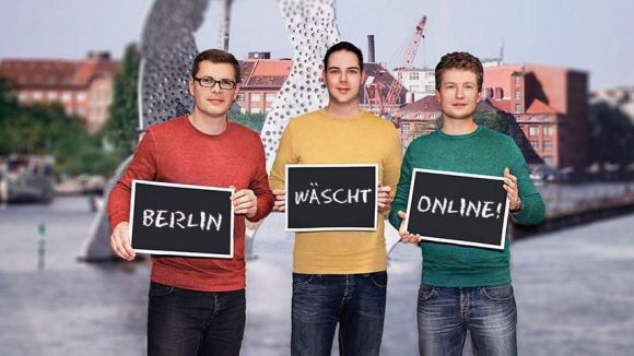 Das Team von Jonny Fresh v.l.n.r.: Sebastian Schmidt (Geschäftsführer), Kay Kagelmann (IT), Stefan Michaelis (Prokurist).