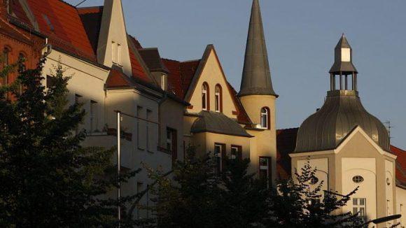 Schöne Altbau-Fassade, so etwas gibt es nicht nur in Mitte ...