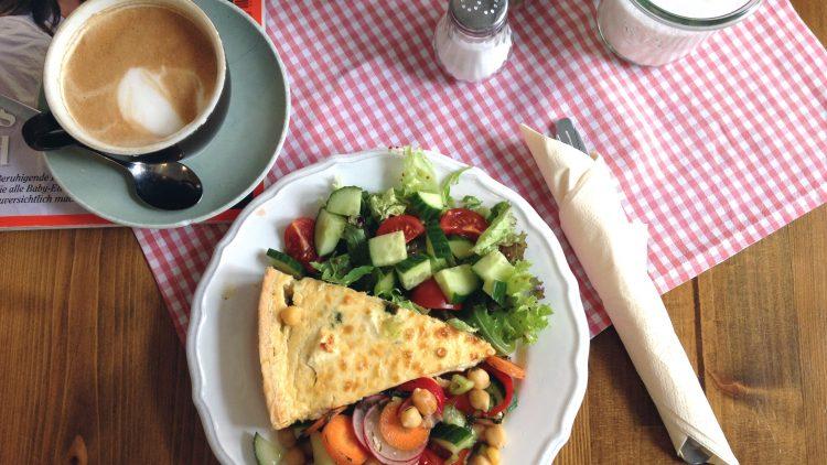 Frisch und lecker – das Mittagessen bei Milchmanns in Pankow.
