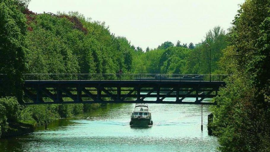 Wäre auch für Radler ein Paradies: das Ufer des Teltowkanals.