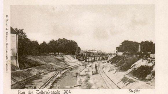 Eine Postkarte aus der Zeit des Baus.