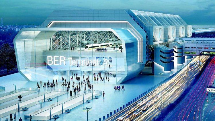 Terminal A direkt am Ring.