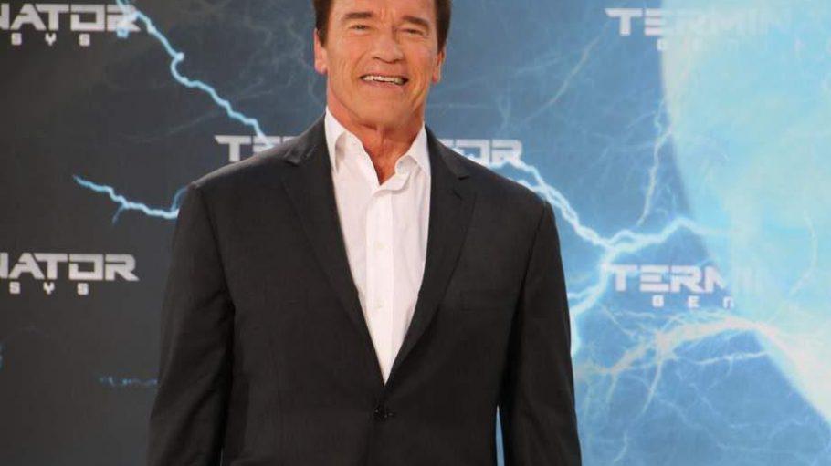 Der Terminator himself: Arnold Schwarzenegger fand anlässlich der Europapremiere von Terminator: Genisys Zeit für einen Besuch im Cinestar Sony Center am Potsdamer Platz.