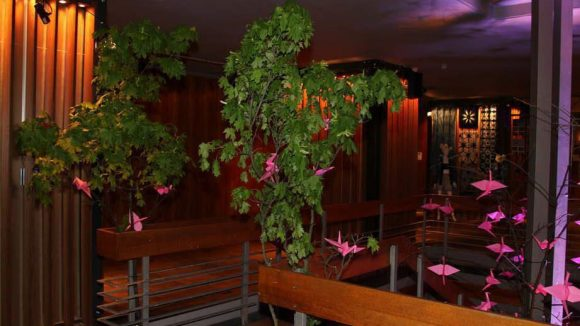 Das Haus Ungarn wurde über mehrere Tage in The Garden of Fashion verwandelt. Dort konnten junge Labels, Designer und Künstler zeigen, woran sie gerade arbeiten. Highlight war der Graduate Award 2015, bei dem sechs Absolventen ihre Kollektionen erstmals vor einer Jury präsentierten.
