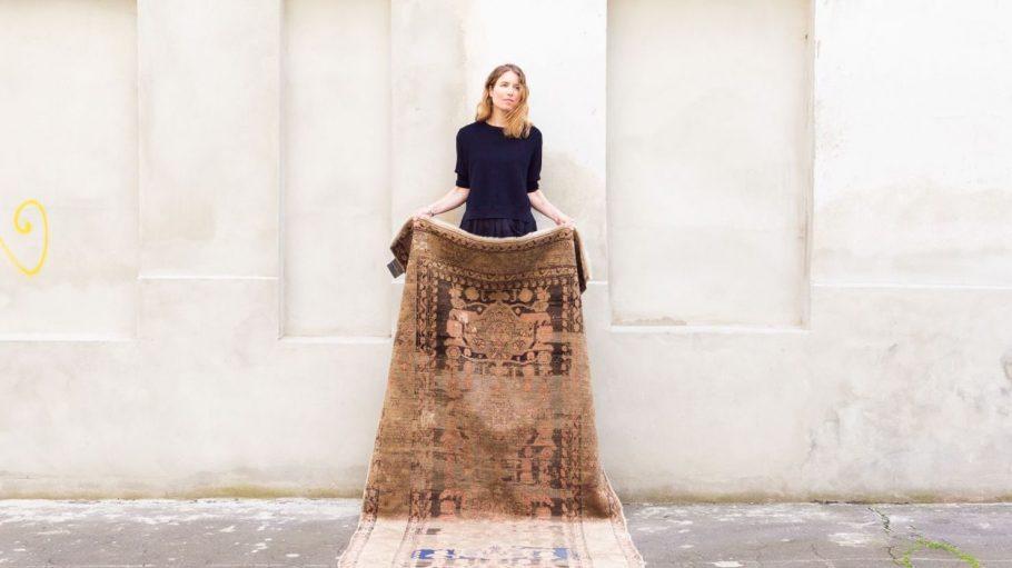 Ob Manhattan Valley oder Rattlesnake - Katrin ten Eikelder hat ihren Teppichen Namen gegeben, die von New York inspiriert sind.
