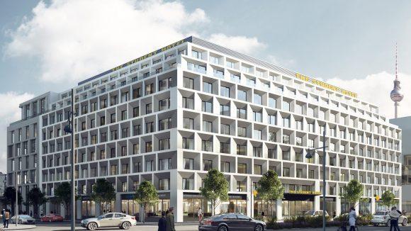 So soll die neue Bleibe für 457 Studenten am Alexanderplatz aussehen.