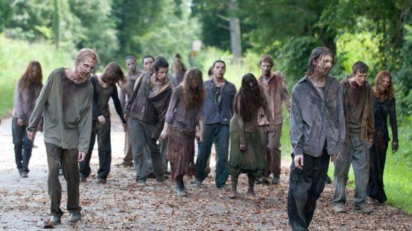 The Walking Dead Zombies Beißer Filmstill