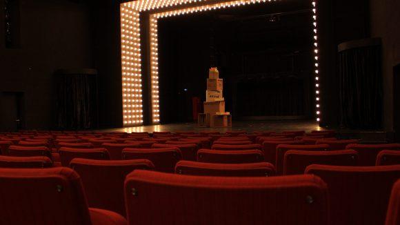 Im Theater an der Parkaue haben über 600 Zuschauer Platz.