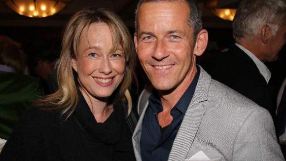Und schließlich: Theater-Schauspielerin Debora Weigert und rbb-Moderator Harald Pignatelli.