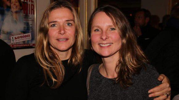 Claudia Fitz (l.) und Ulla Skoglund (r.), die Agentinnen von Valerie Niehaus (Fitz+Skoglund), waren zufrieden mit ihrem Schützling.