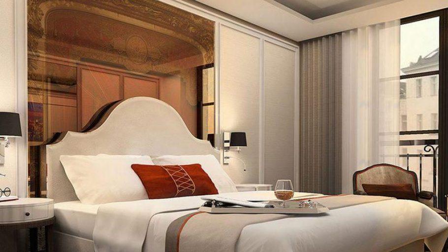 Wer möchte hier nicht gern mal nächtigen? Das neue Titanic Hotel in Berlin verfügt über 189 Zimmer und 19 Suiten.