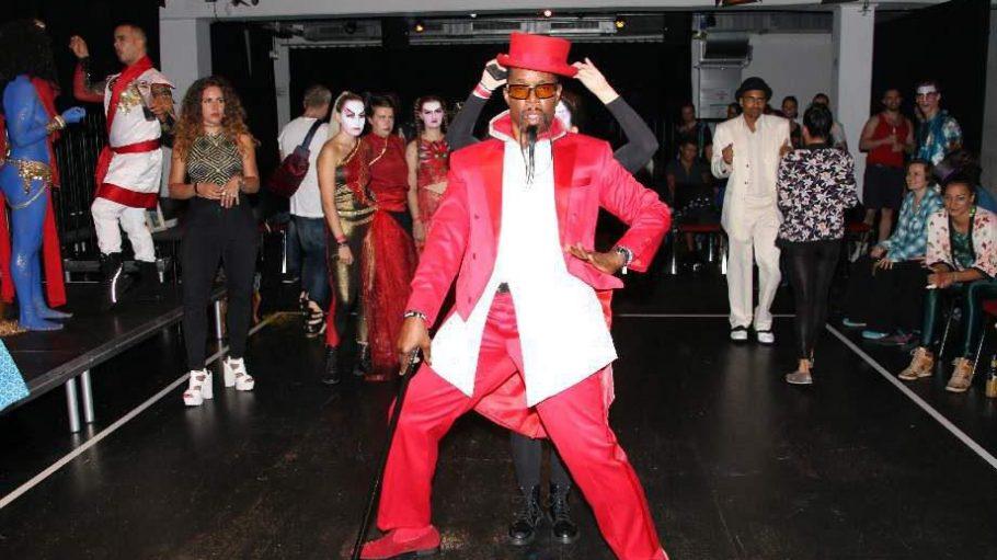 BekannterUnderground Club Tänzer aus New York City, am Freitag Jury-Mitglied: Archie Burnett.