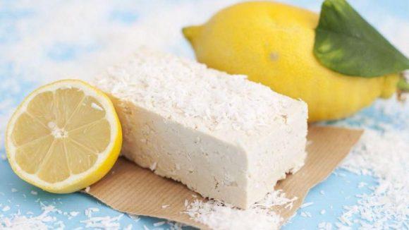 Der Kokos-Tofu mit Zitrone ist nur eine von vielen Kreationen der beiden Frauen.