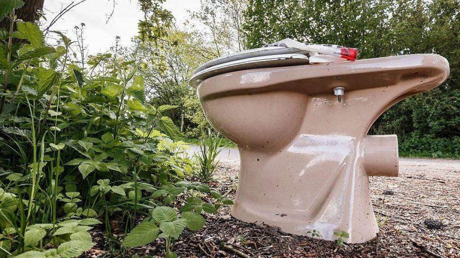 Eine öffentliche Toilette zu finden ist manchmal gar nicht so einfach.