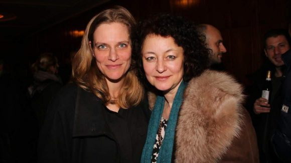 Dokumentarfilmerin Alexandra Weltz-Rohrbach (l.) und Schauspielerin Natascha Bub.