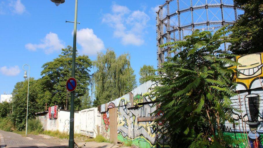 Ein Blick auf die Torgauer Straße.