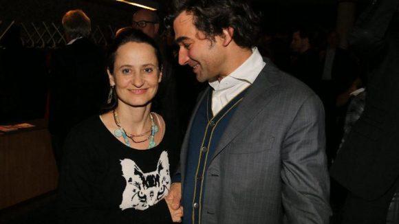Zu den Gästen am Berliner Premierenabend gehörten neben Choreografin Sasha Waltz und ihrem Ehemann Jochen Sandig ...