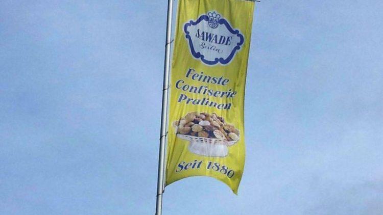 Die Flagge weht weiter: Trotz Insolvenzankündigung wird das Berliner Traditionsunternehmen Sawade fortgeführt.