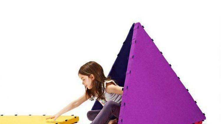 Die magnetischen Matten von Tukluk sind ideal zum Bauen, Turnen, Entdecken und Verstecken.