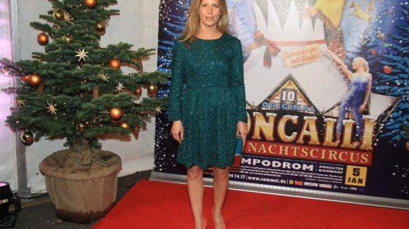 Sah auch nicht gerade freudestrahlend aus: TV-Schauspielerin Valerie Niehaus.