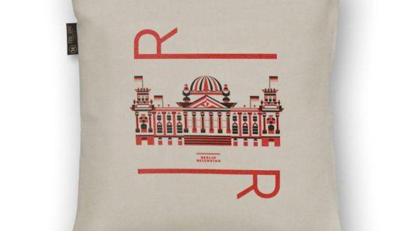 Aus der Hauptstadt-Linie: mit dem R für Reichstag.