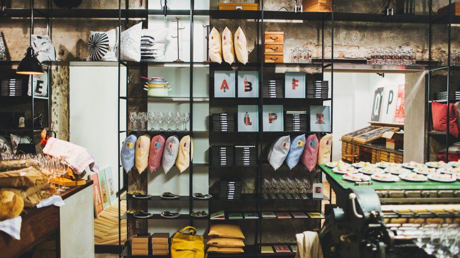 Ein Blick in den stylishen Store.