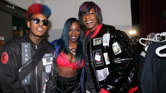 So war dann auch der Hip-Hop- und Bounce-Musiker Big Freedia, alias Freddie Ross (links) mit von der Partie.