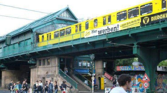 Auch am U-Bahnhof Eberswalder Straße in Prenzlauer Berg werden zwei Wochen lang keine Züge verkehren.
