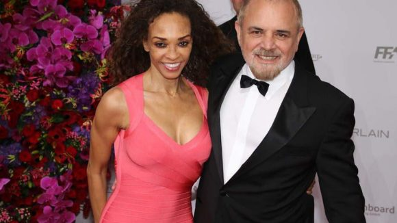 "Regisseur Uli Edel (u.a. ""Christiane F."", ""Baader-Meinhof-Komplex"") mit seiner Frau Gloria."