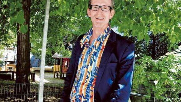 Hauptsache Ruhe: Schauspieler Ulrich Matthes genießt seinen unanstrengenden Bezirk.