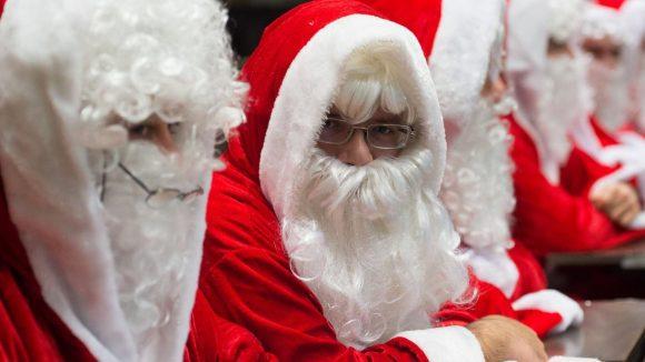 Und jetzt singen. Neukölln sucht Weihnachtsmänner.