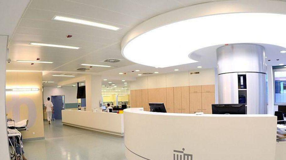 Groß, hell und modern: die neue Rettungsstelle des Unfallkrankenhauses Berlin in Biesdorf.