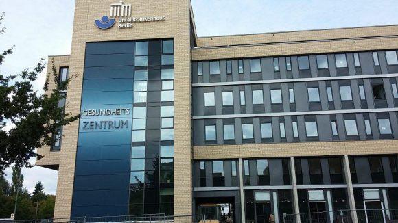 Das neue Gesundheitszentrum des UKB.