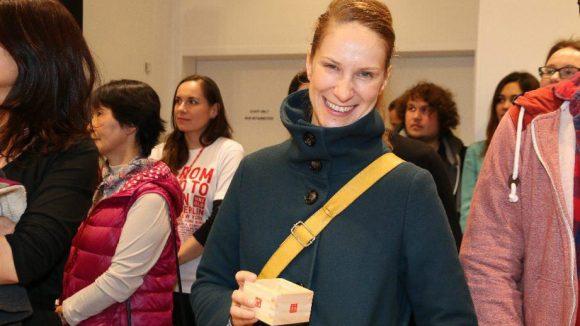 Auch Schauspielerin Chiara Schoras hat eines bekommen.