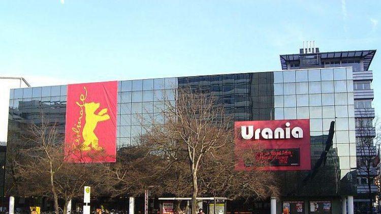 Das Hauptgebäude der Urania in Schöneberg.