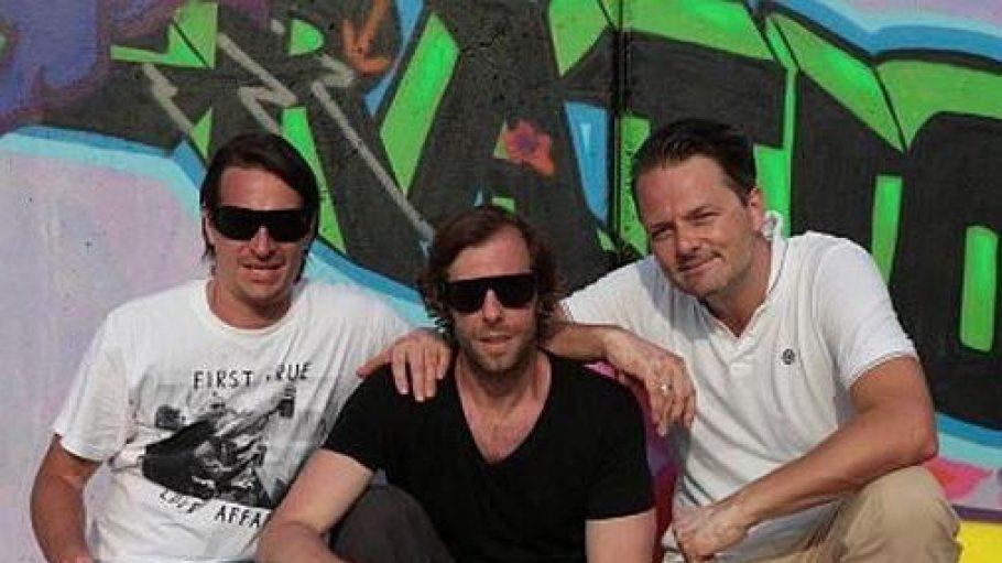 """Inhaber des ersten Urban Art-Museums """"Generation 13"""" in Berlin Mitte: Oliver Kircher, Oliver Korittke und Niklas Beckert. Korittke ist hauptberuflich Schauspieler und wird nicht täglich im Museum sein."""