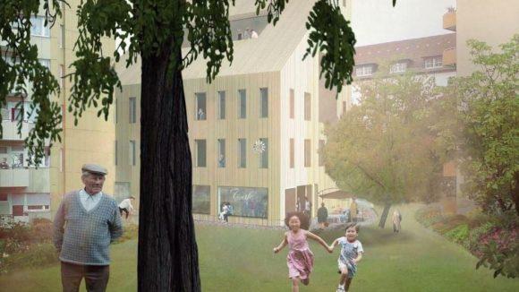 Wie wollen wir in Zukunft wohnen? Hier eine Idee des Architekturbüros Susanne Hofmann. Klick dich durch unsere Bilderstrecke und schau dir mehr Entwürfe an!