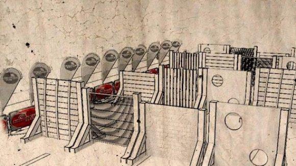 """... oder in vier Reihen aufgestellte """"Urbanian Walls"""" überwunden werden."""