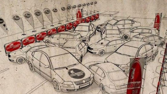"""... müssen Hindernisse wie das Auto-Chaos in der """"Rush Hour"""" ..."""