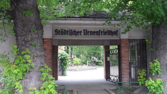 Eine Oase der Ruhe: Der Urnenfriedhof.