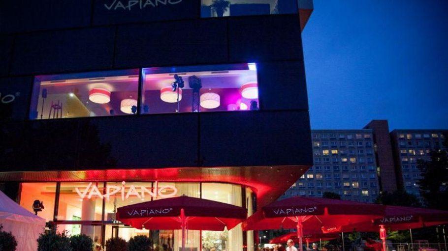 Vapiano auf zwei Etagen direkt neben dem Fernsehturm.