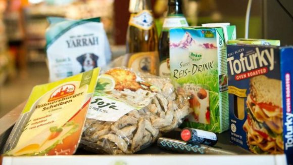 Vegane Lebensmittel wie diese wird es auch auf der Messe Veggieworld im November geben.