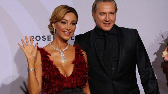 Moderatorin und Werbe-Ikone Verona Pooth brachte ihren Mann Franjo mit - und ließ tief blicken ...