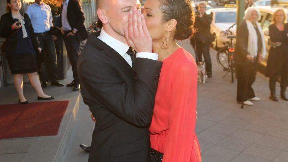 ... ganz schön frisch verliebt mit dem Produzenten Matthias Pieper.