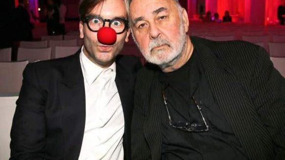Ebenso Nils Schlender von RedNose. Hier mit Kumpel Udo Walz (rechts).