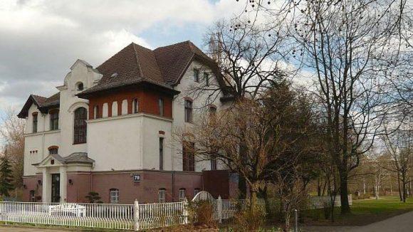 Die Jugendstil-Villa beim Fennpfuhlpark ist Ort der neuen Gesprächsreihe des Bürgervereins.